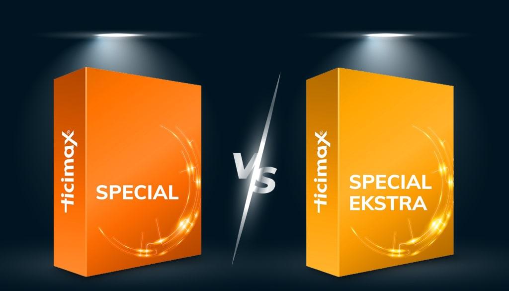 Ticimax Special Extra Paket Ticimax Special Paket Karşılaştırması